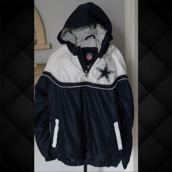 online store db9c1 10675 Dallas Cowboys Rain jacket